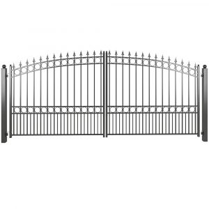 Dual steel driveway gate from Vietnam manufacturer