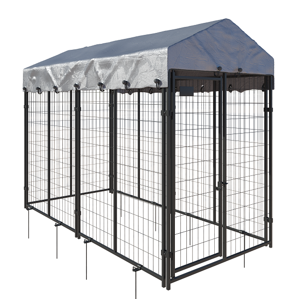 6 panel kennel style